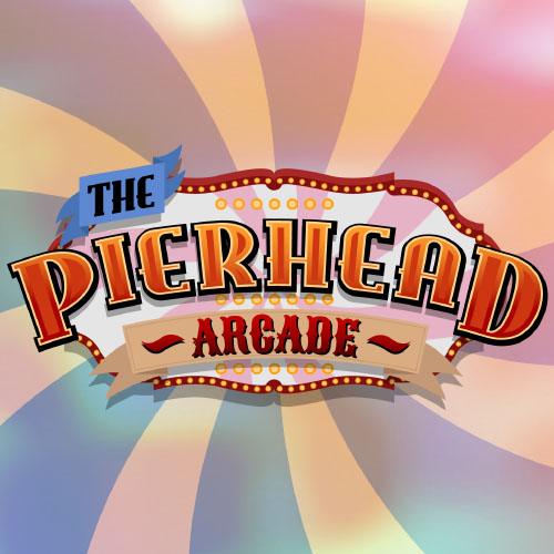 title logo for pierhead arcade